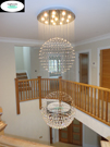crystal ball chandelier